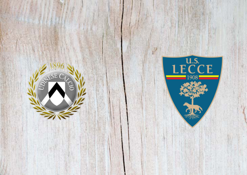 Udinese vs Lecce -Highlights 29 July 2020