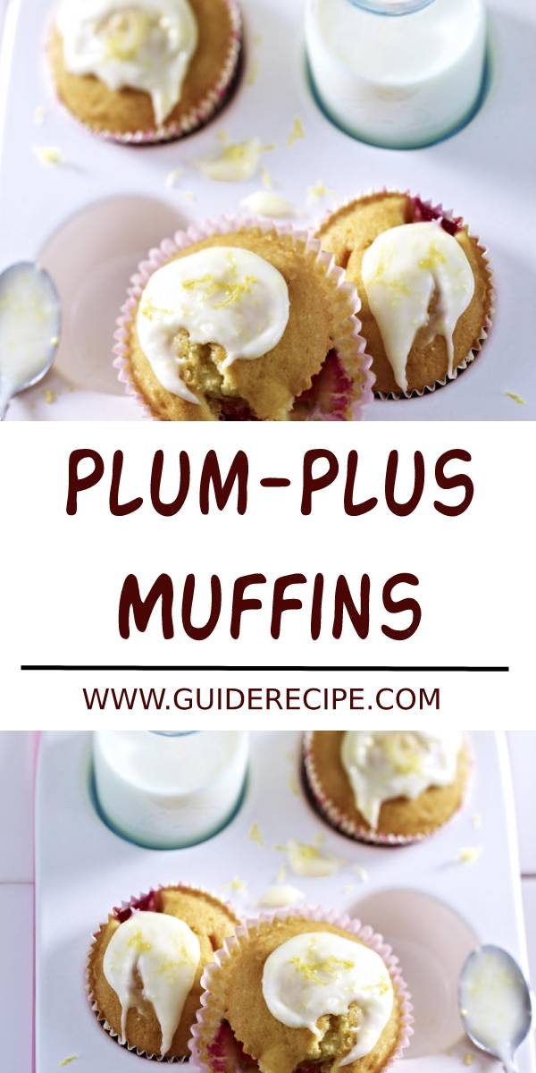 Plum-Plus Muffins Recipe #plum #muffins #muffinsrecipe #breakfast #dessert #healthymuffins #healthybreakfast