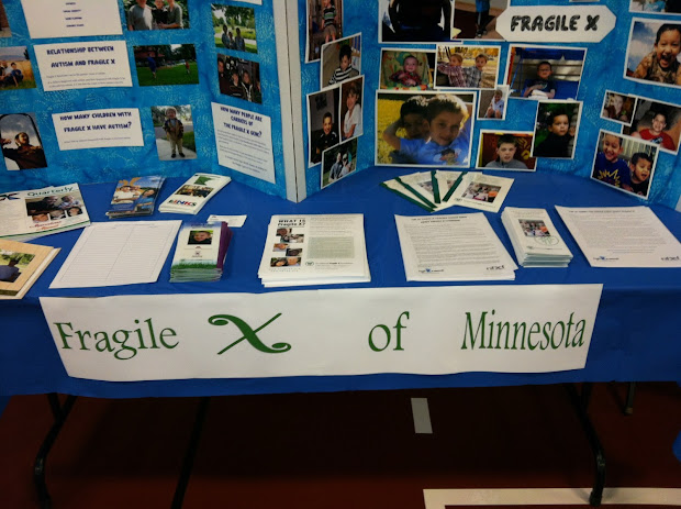 Fragile X Files Spreading Word