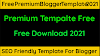 Free Premium Blogger Template 2021 Free Download King Bloggers