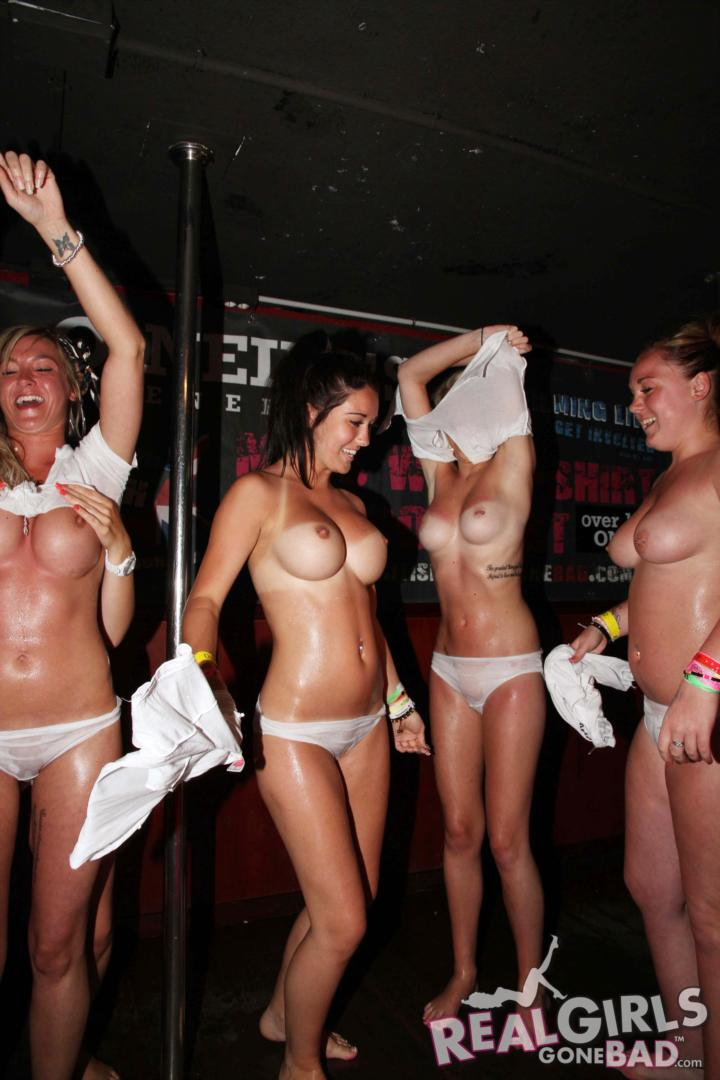 wet t shirt college girls