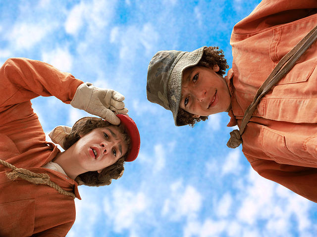 "The Book ""Holes"": Stanley Yelnats & Hector Zeroni"