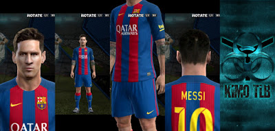 PES 2013 Barcelona Home Kit 2017 By KIMO T.L.B 19
