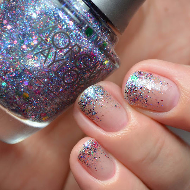 glitter nail polish topper