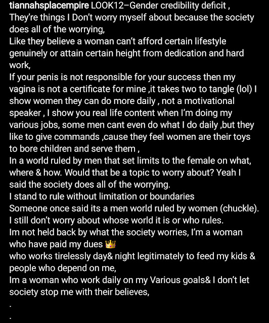"""""""If your p*nis is not responsible for your success then my v*gina is not a certificate for mine"""" Toyin Lawani says"""