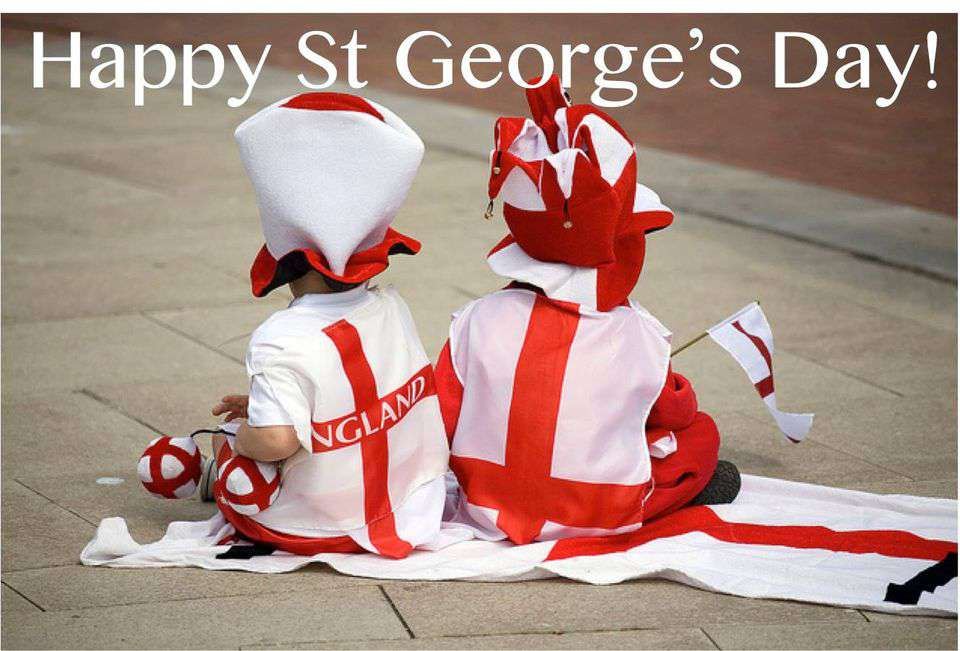St. George's Day Wishes Awesome Picture