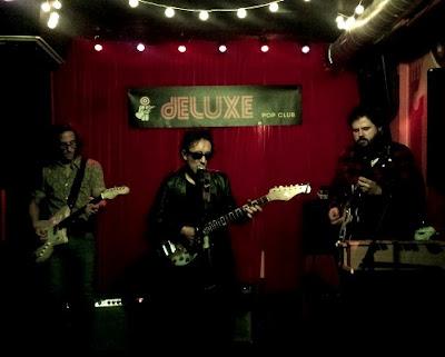 Crónica concierto Rafael Berrio Deluxe pop club 3