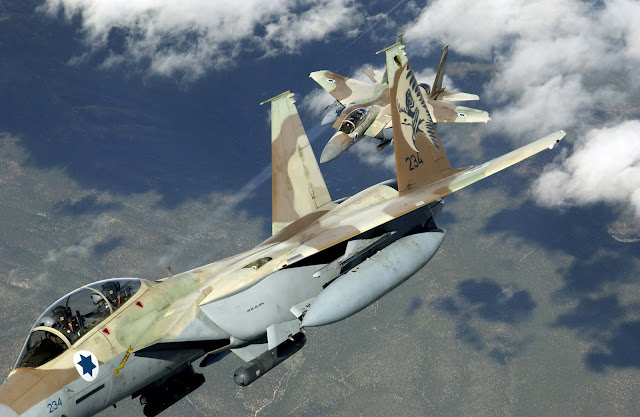 Israel Air Strikes on arms depot used by Iran-backed paramilitary forces in Iraq