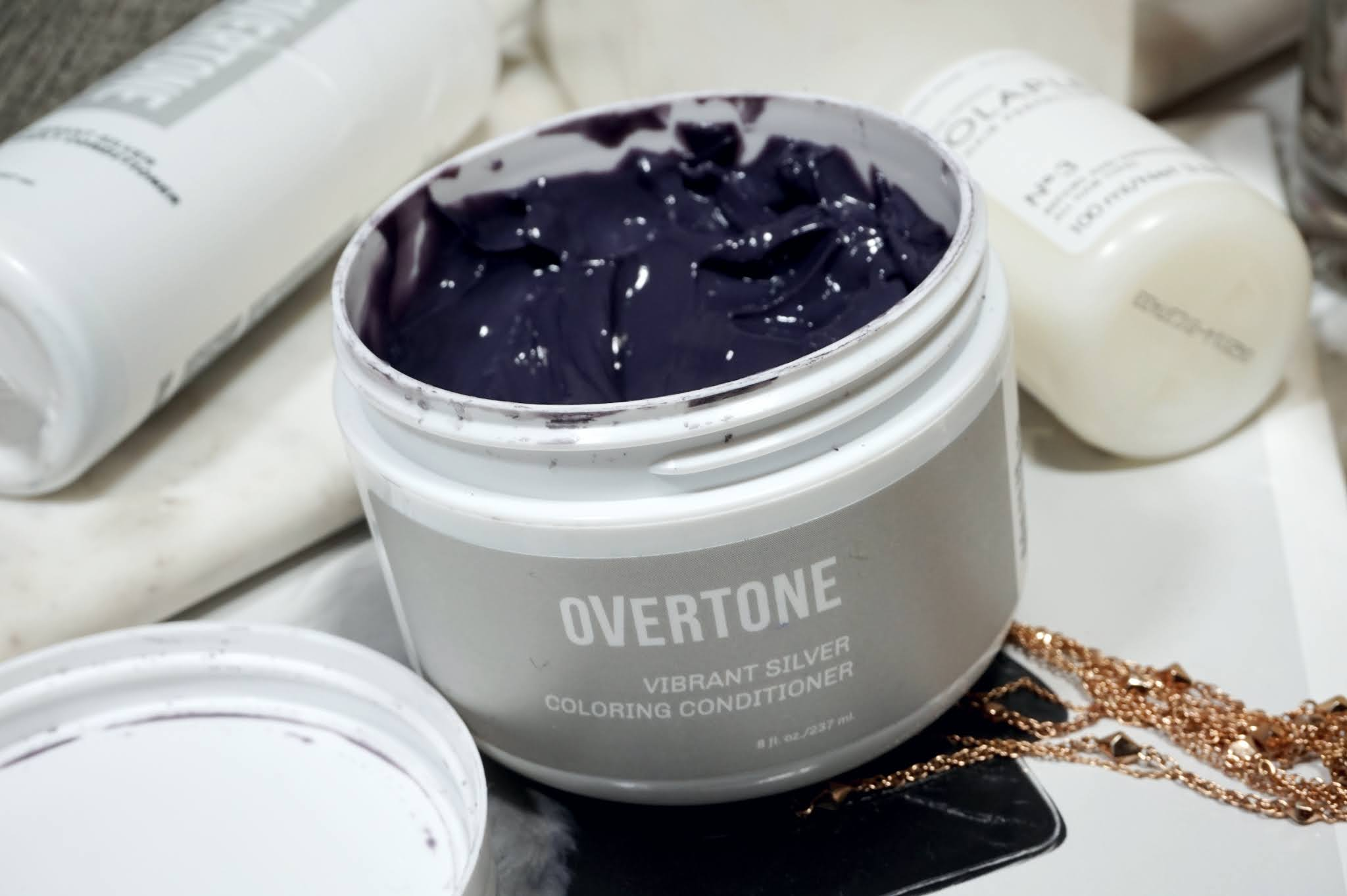 Overtone - Vibrant Silver Color Conditioner & Daily Conditioner