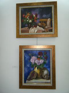 Les peintures de mes élèves à l'expo 12