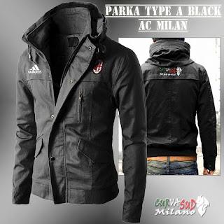 Jaket Parka AC Milan