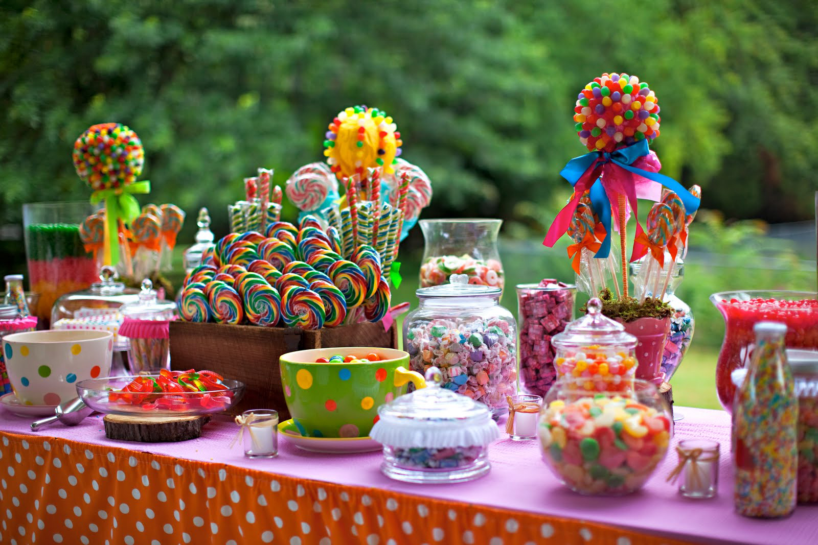 Chic Creations Events: Baby Shower Theme: Candy Land
