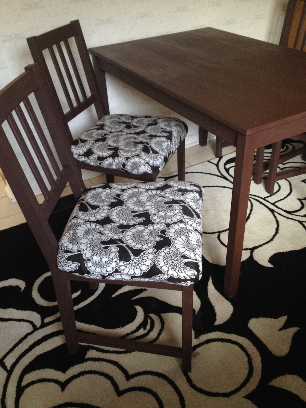 Judit Gueth My Ikea Hack With Stefan Chairs And A Simple