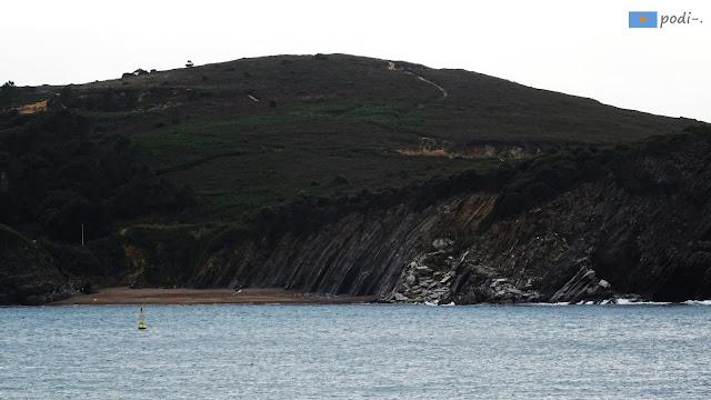 playa de muriola, bahía de plentzia