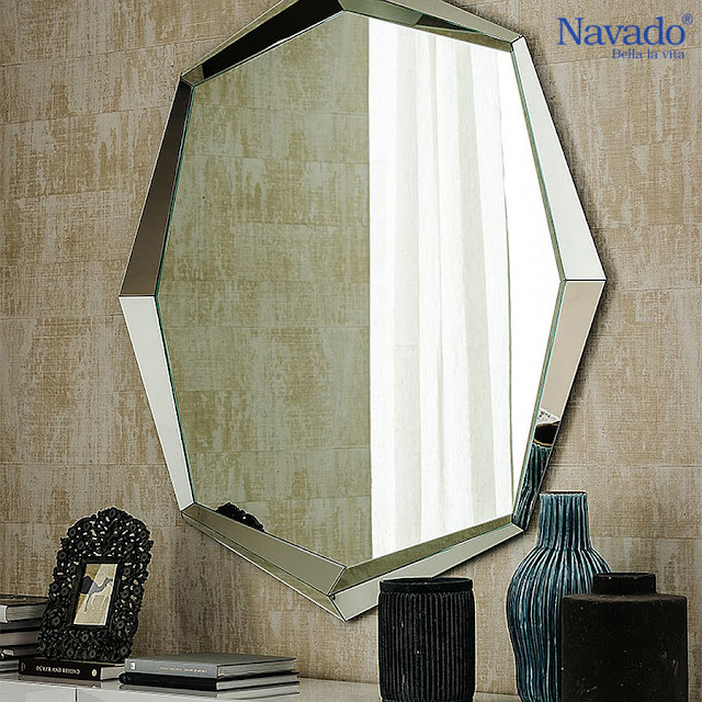Gương trang trí cho nội thất sang trọng và hiện đại