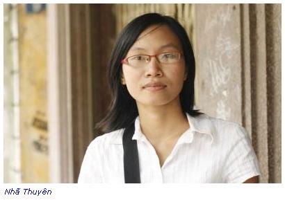 Image result for nhà văn Nhã Thuyên