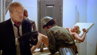 Howard Vernon, Karine Gambier, torture, nude, women in cellblock 9, cellule 9, wip, women in prison, prison de femmes, erotisme