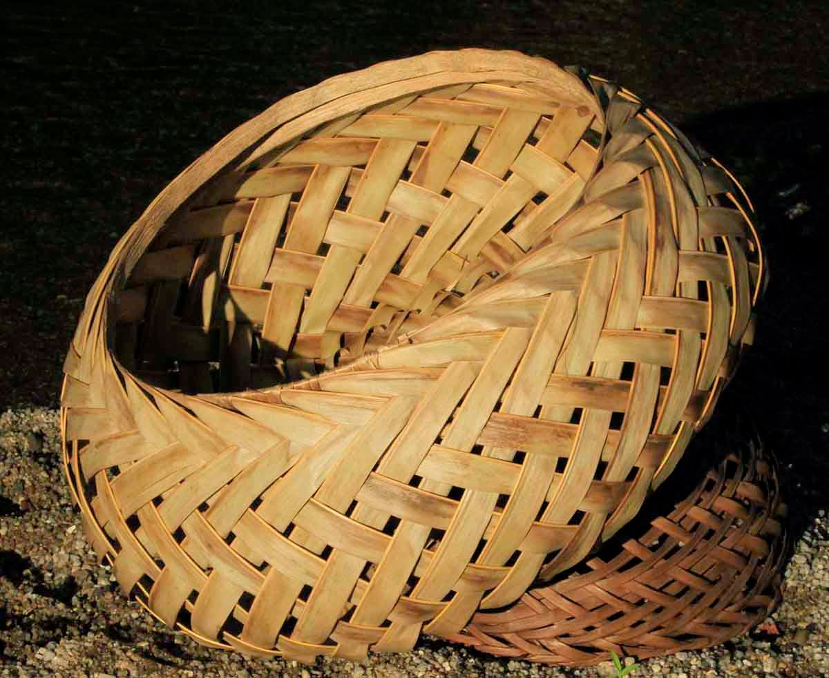 How To Weave A Coconut Leaf Basket : Coconut leaf baskets catalogue archive