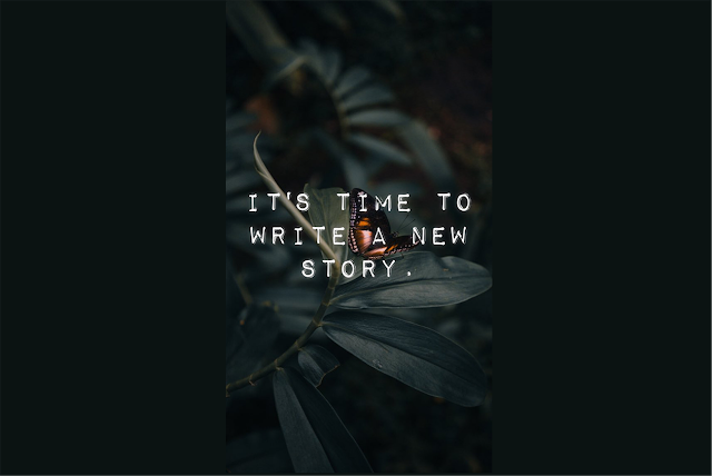 It's Time to Write a New Story – Jade Abaya