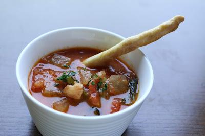 カフェボスコベルのトマトスープ