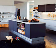 Efficient modern kitchen island ideas white countertop