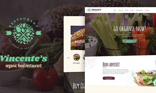 Download Vincente's v1.1.3 - Organic Food Restaurant & Eco Cafe WordPress Theme