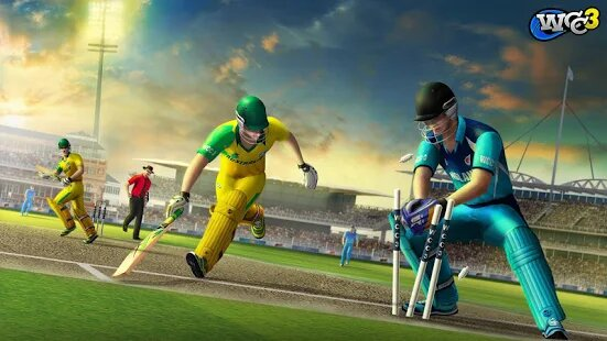 Best mobile phone cricket game wcc 3