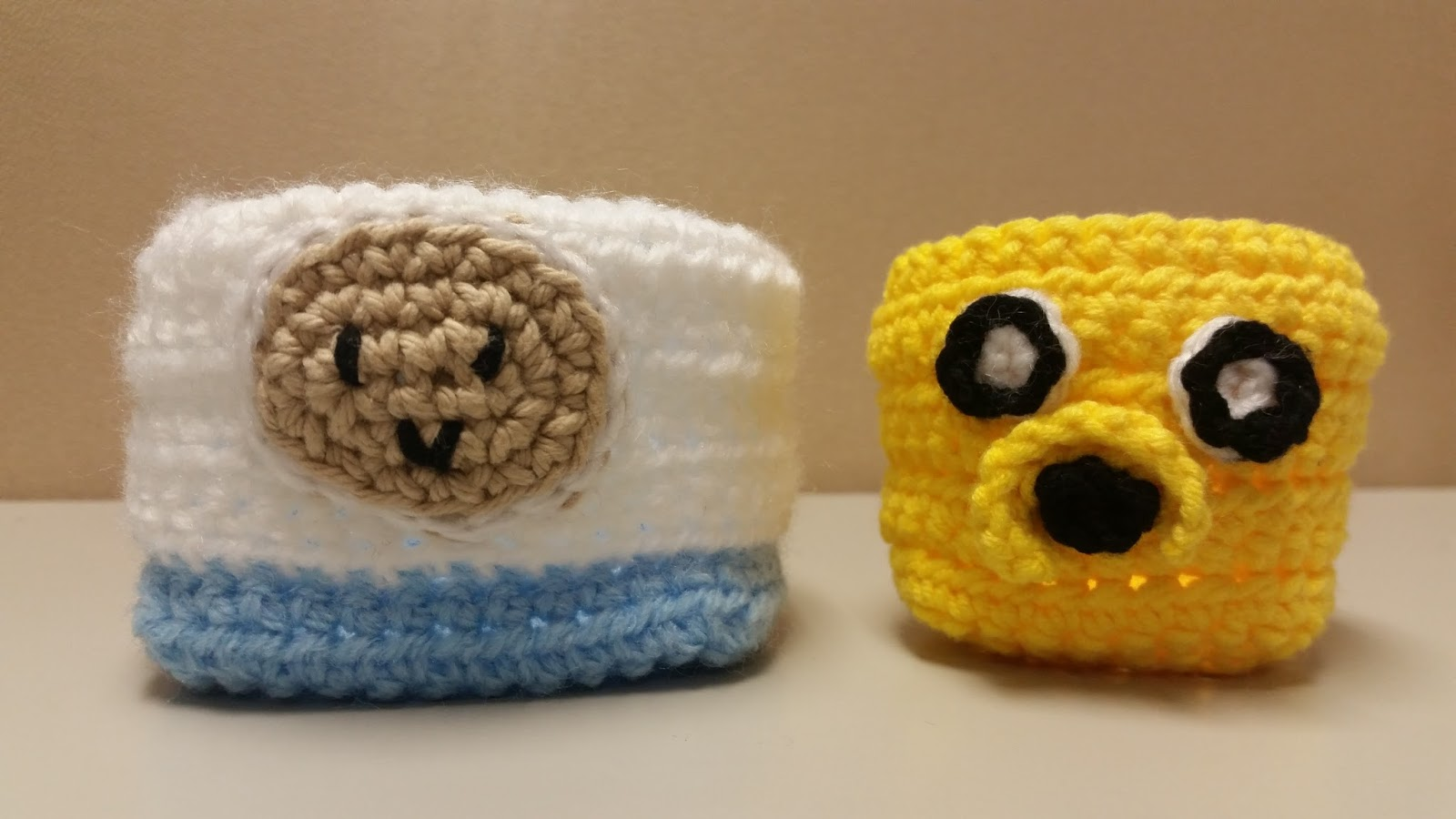 Crochet AF!: Adventure Time Finn and Jake Mini Baskets