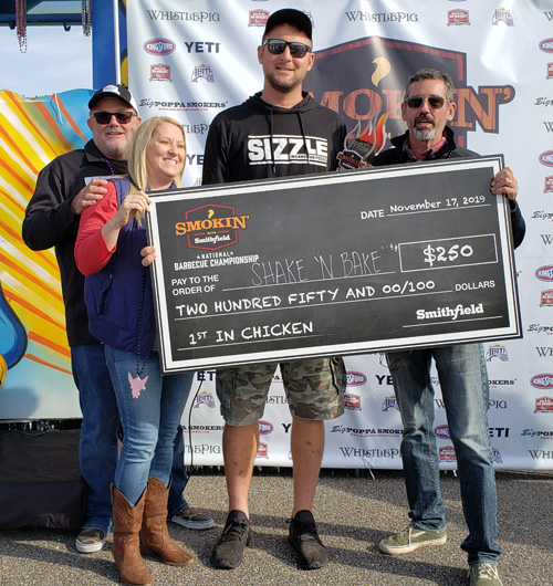 Shake'n Bake won 5th place at the 2019 Smokin' with Smithfield National Barbecue Championship