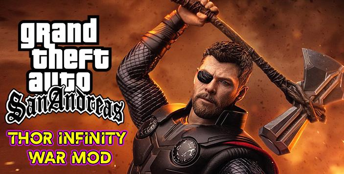 thor infinity war mod