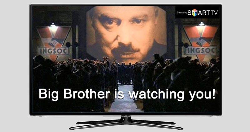 Большой Брат в телевизоре