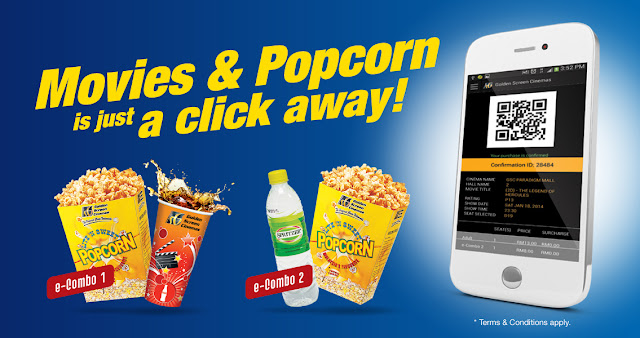 Buy movies and popcorn in just a click a way with GSC