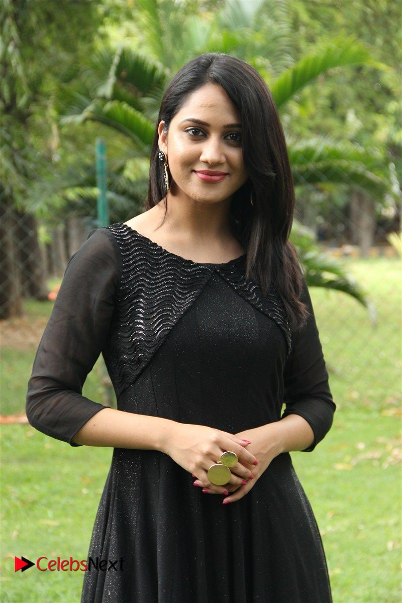 Miya George Stills in Black Dress at Oru Naal Koothu Press Meet ~  ~ Bollywood and South Indian Cinema Actress Exclusive Picture Galleries