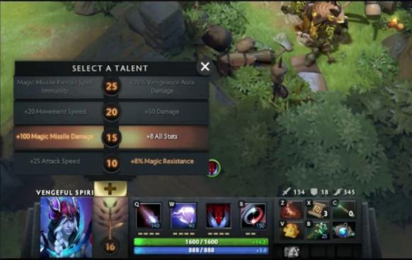 Talent Tree Dota