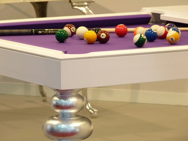 fancy and luxury billiard tables