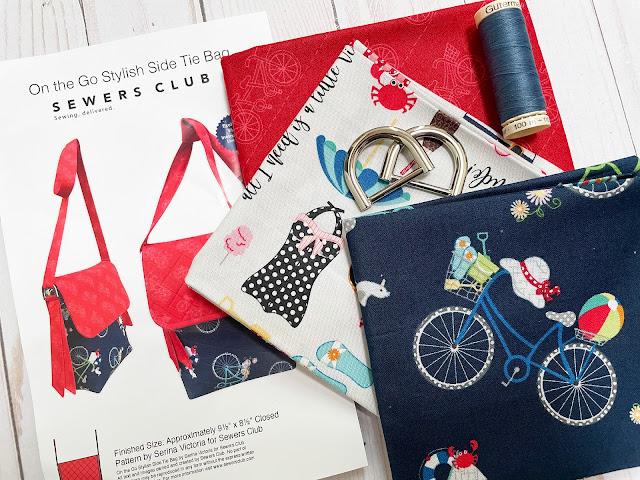 A Bit of Scrap Stuff Blog #ABitofScrapStuff #SewersClub #Kimberbelldesigns #HandmadeBag