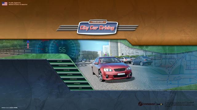 تحميل لعبة تعليم قيادة السيارات للكمبيوتر وللموبايل City Car Driving اخر اصدار