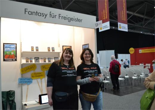 Fantasy für Freigeister: Tyrrin Hexenkater auf der Leipziger Buchmesse 2016 - #LBM2016
