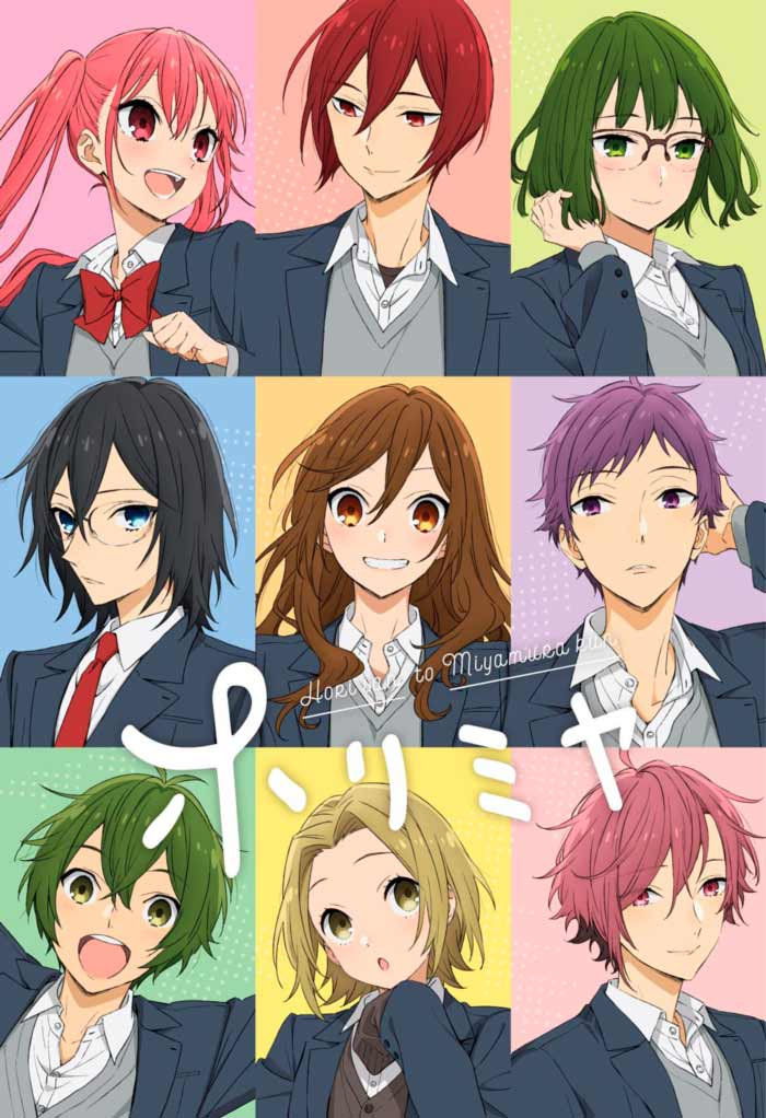 Horimiya anime - poster