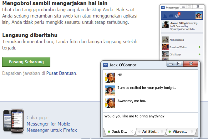 Download Aplikasi Facebook Messenger Terbaru 2014