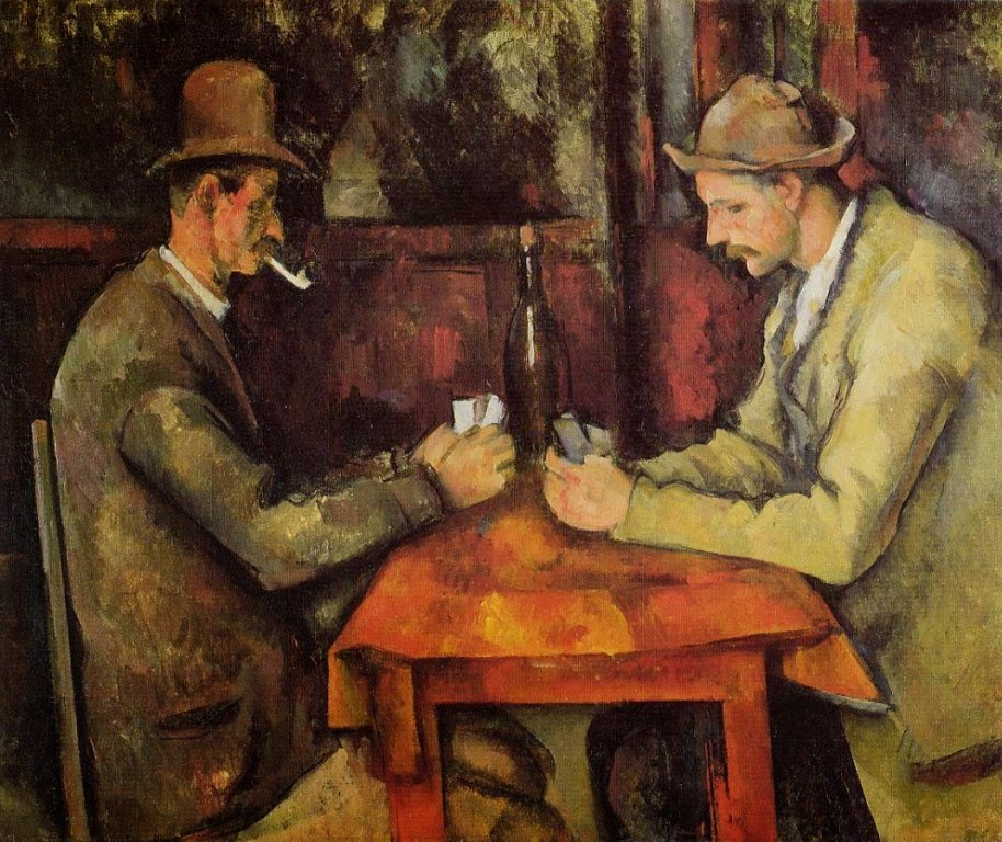 Paul Cézanne The Card Players. 1895