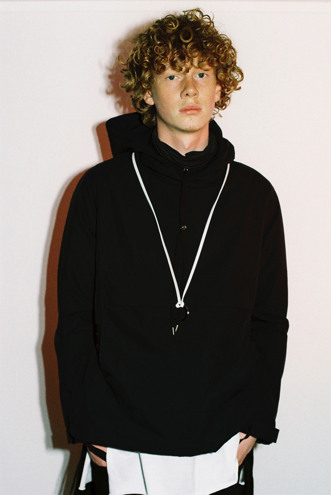 Male Model Otaku Ben Rees Portvel Autumn Winter 2015 16