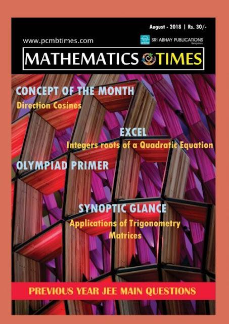 Mathematics-times-august-2018