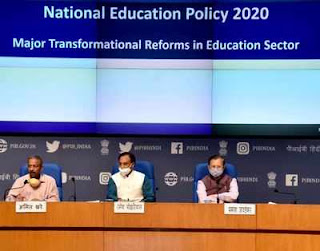 National Education Policy 2020- A New Education Policy