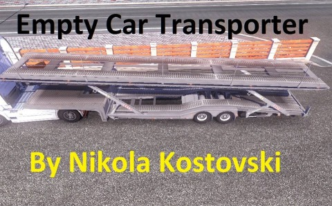 Empty Car Transporter