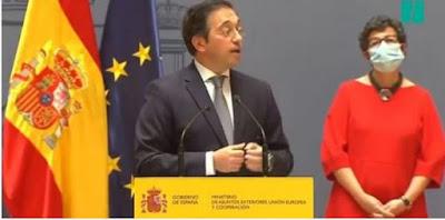 في أول خروج إعلامي..وزير الخارجية الاسباني يؤكد على أن المغرب يعتبر صديقا عظيما لإسباني....