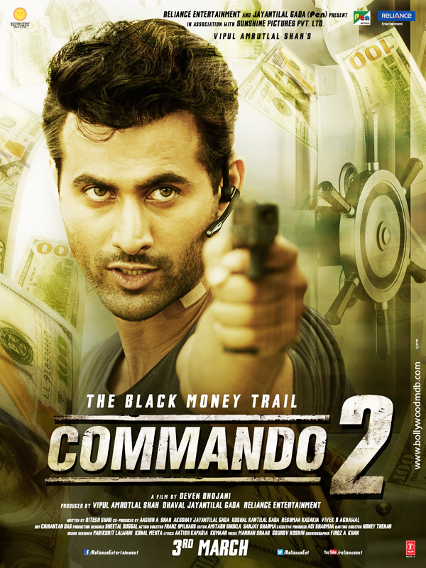 Commando 2 Movie Download HD Full Free 2017 720p Bluray thumbnail