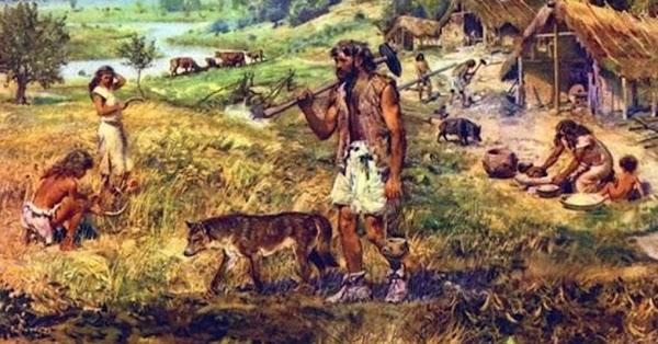 Domesticación del perro durante  la era paleolítica