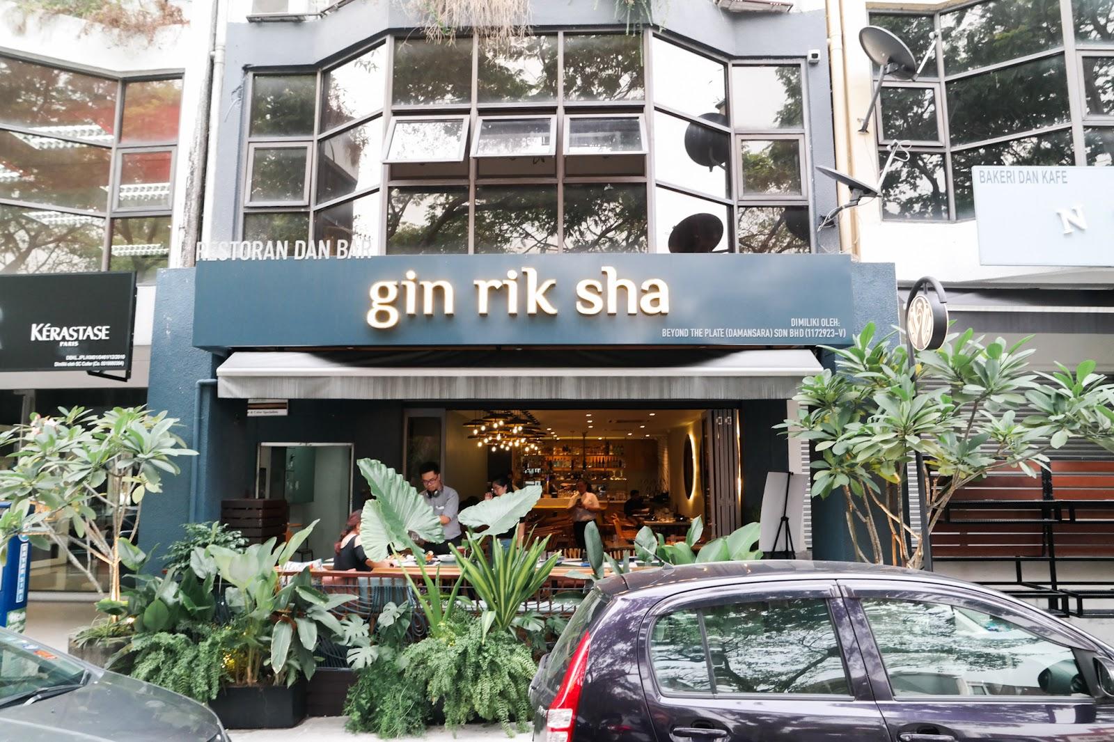Gin Rik Sha shop front