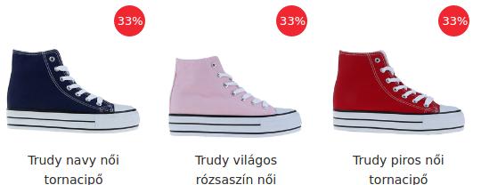 Női tornacipők megvásárolhatod itt